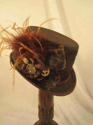 Elsie Massey Steampunk Hats - various styles