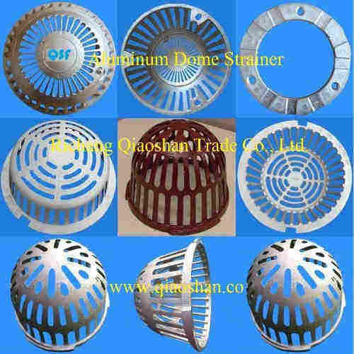 Aluminum Dome Strainer for Roof Drain and Floor Drain
