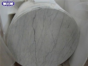 Chinese Guangxi White Marble Table Top