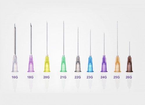 STERILE HYPODERMIC NEEDLES FOR SINGLE USE