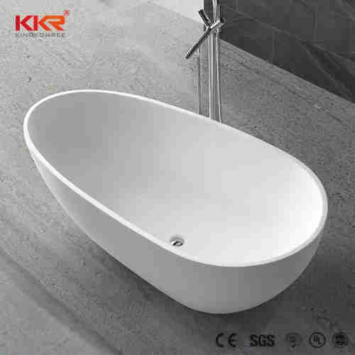 Acrylic Solid Surface Freestanding Bathtub