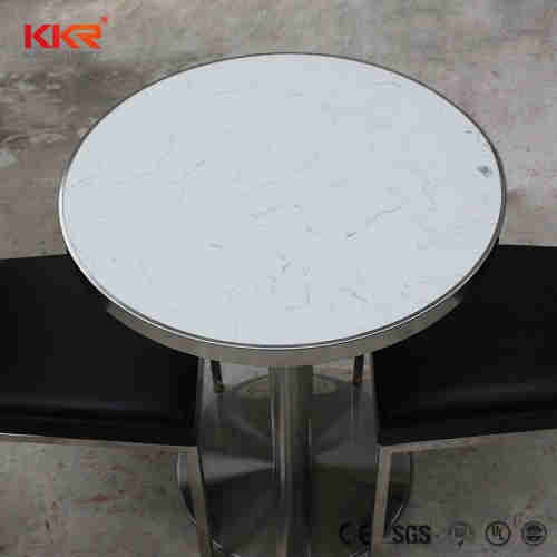 dining table designs granite,dining room funiture solid surface table with 4seaters