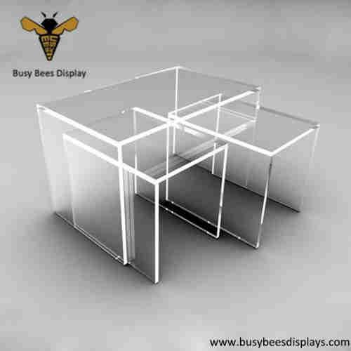 Clear Acrylic Desk