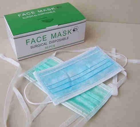 Disposable 3-ply Non-woven Medical Surgical Face Mask