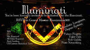 Join Illuminati and have all you want in life