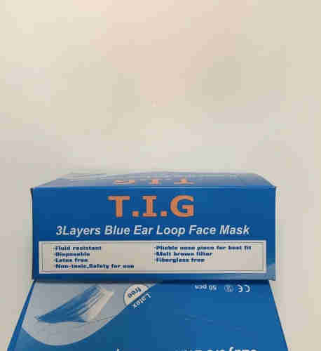 3 Ply Non-Woven Surgical Face Mask