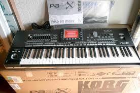 Korg Pa3x 61 keyboard