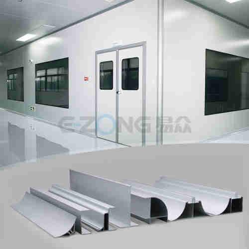 Cleanroom Aluminum Profile & Parts