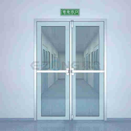 50# glass swing door(door leaf thickness 50mm)