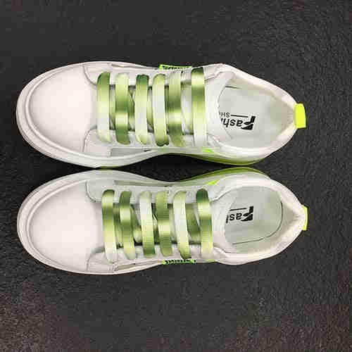 Small white shoes students versatile casual breathable shoes PU material non-slip board shoes