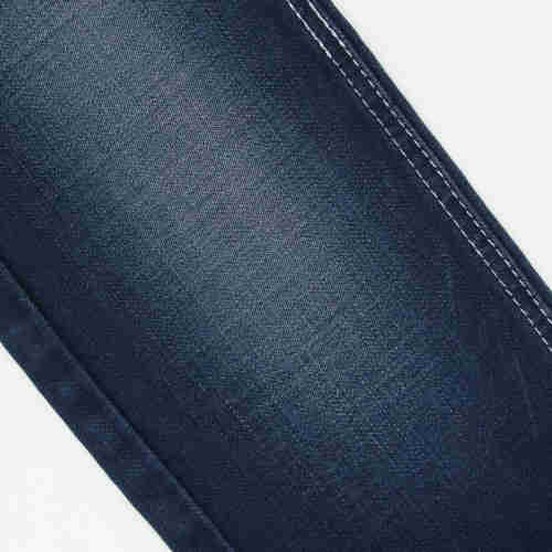 Rope dye cotton Gracell denim fabric  custom blue Denim Fabric company  China wholesale Denim