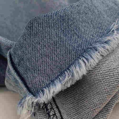 Skyline Textile Knit like jeans fabric  woven fabrics manufacturer  recycled fiber textile