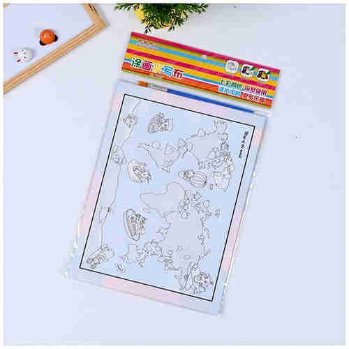 Magic water Sketch book For kindergarten children's manual creativity can be used to make a painting