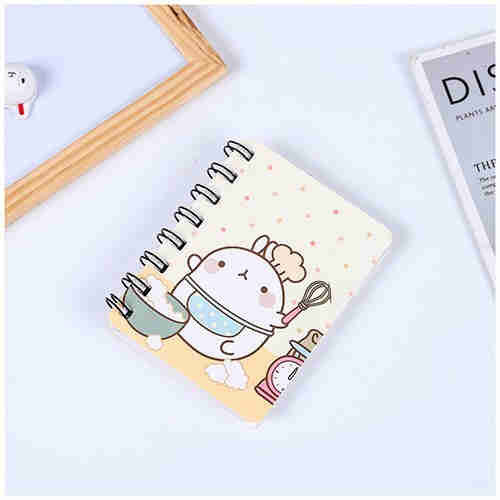 Mini notebook color cover Notepad Student Coil book custom color coil book lovely notebook