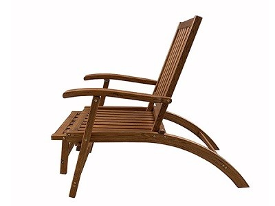 Natural wood Lounge Chair - LC08
