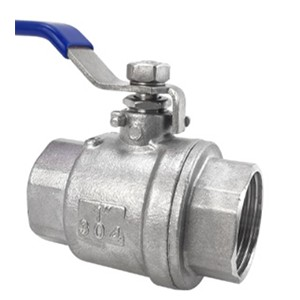 Stainless steel ball valve internal thread two-piece valve Water switch two-piece threaded valve