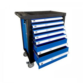 Industrial Roller Cabinet In Blue Sale
