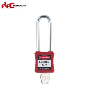 76mm Stainless Steel Shackle Safety Padlocks EP-8551~EP-8554  ABS Safety Padlock