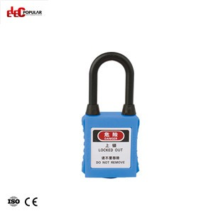 38mm Dustproof Insulation Shackle Safety Padlock EP-8531D~EP-8534D  ABS Safety Padlock