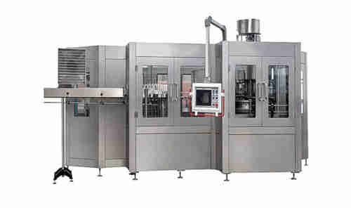 Hot melt labeling machine