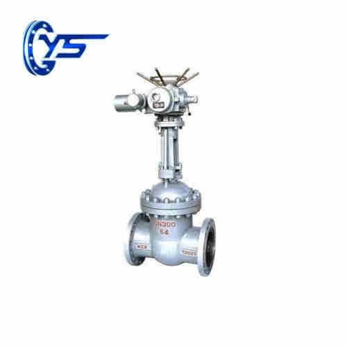 Z941H-16C / 25 DN 50-1000mm cast steel electric gate valve  Brass Gate Valve for sale