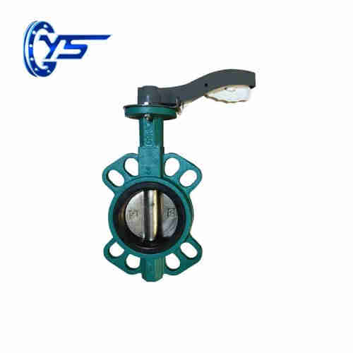 Oil And Gas Butterfly Valve Wafer type   Butterfly Valve manufacturer