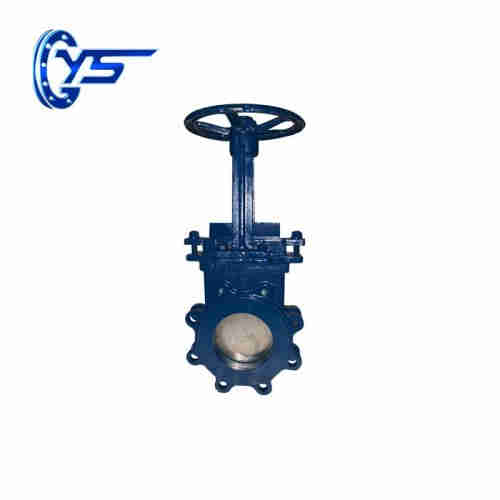 DN 50-600mm Rising Stem Knife Gate Valve   gate valve manufacturer