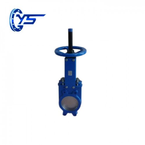 Z73 / 43X-10 / 16Q slurry gate knife gate valve   gate valve manufacturer