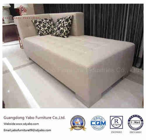 5 Star Hotel Furniture for Square Leisure Sofa Ottoman (6312O-1)