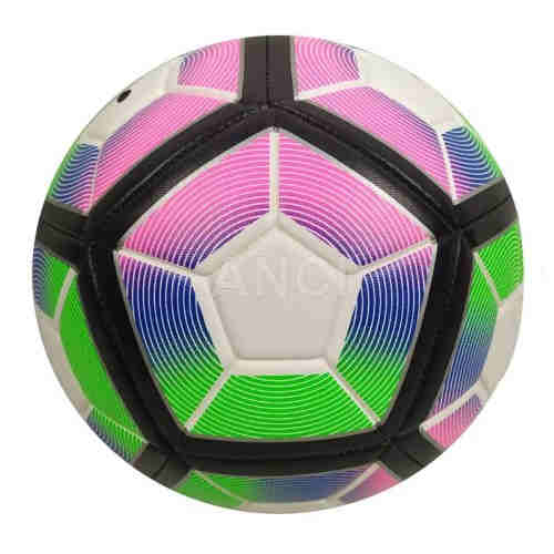 Colored 3.5mm PU Soccer ball Football Offical Size 5