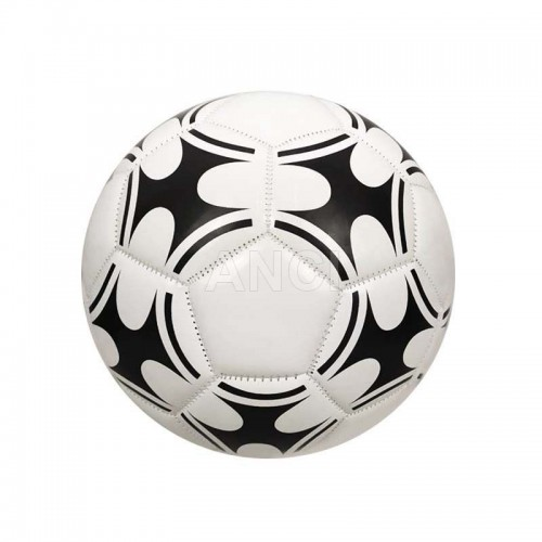 Classic White and Black Size 5 TPU Leather Soccer Ball Traning