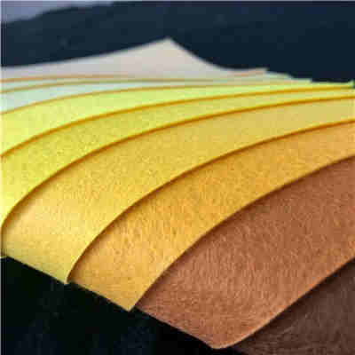 New thickness tennis ball fabric needle punched nonwoven felt