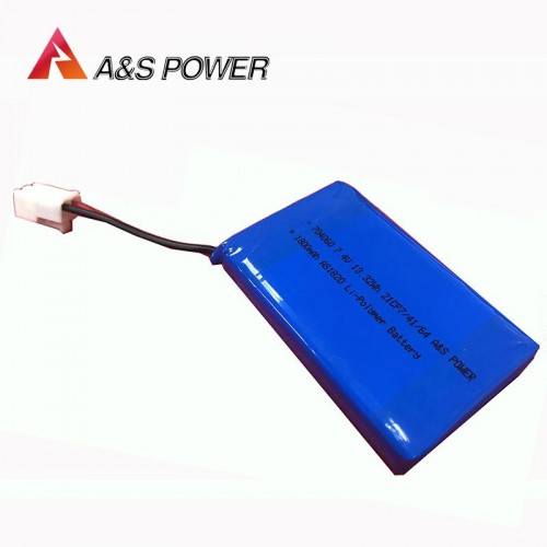 Lithium Battery Pack 2S 704060 7.4V 1800mAh   Lipo Battery Manufacturers