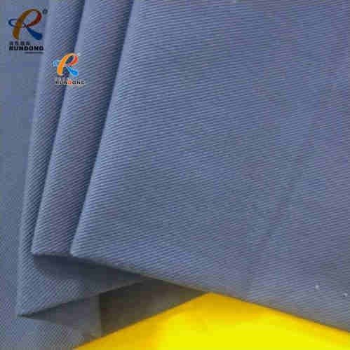 Polyester and cotton canvas fabric with brushed and soft for uniform