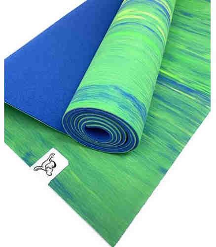 Yoga mat - Natural Tree Rubber yoga Mat, Eco Friendly ,Non Slip, Dense Cushioning for Support