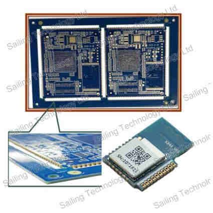 high quality4 Layer PCB Wi-Fi PCB