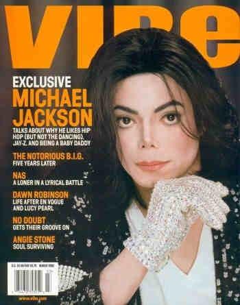 VIBE MAGAZINES Micheal Jackson