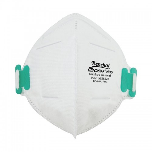 Foldable Air Pollution Disposable N95 Particulate Respirator