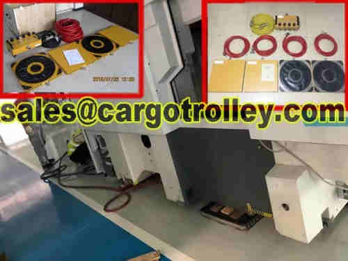 Air moving skates is easy to operate with no especial training is workable