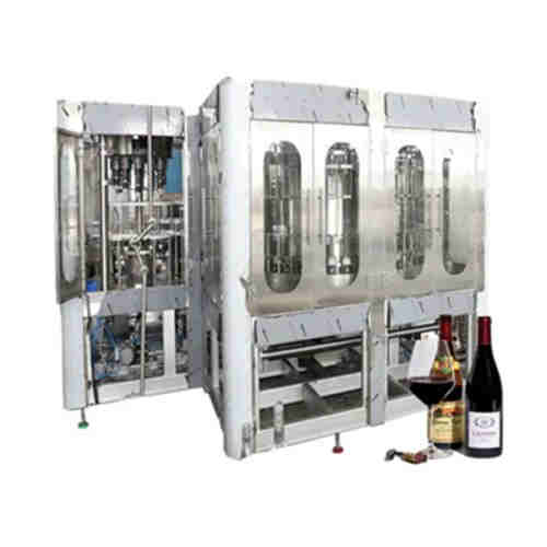 Automatic Wine Bottling Machine