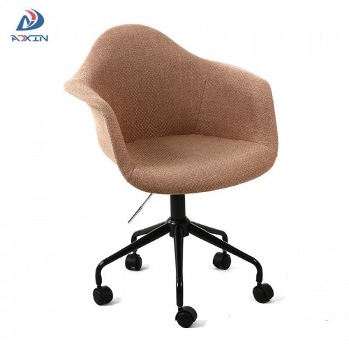 AL-806FS Modern adjustable swivel leisure office chair fabric with wheels for sale