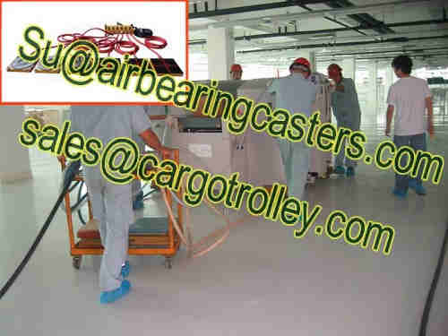 Air casters rigging systems solve your machinery easily