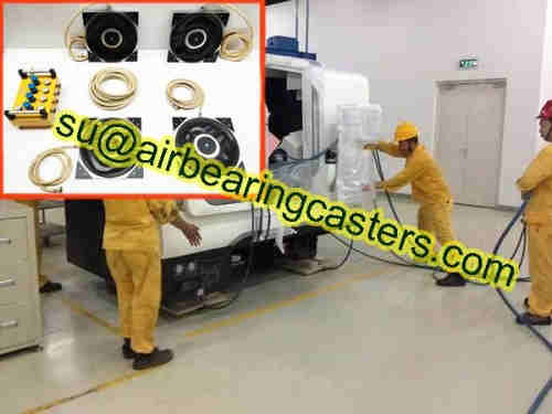 Air bearings casters offer high accuracy in industry