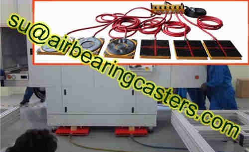 Air casters also known as air movers