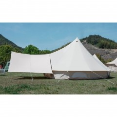 Bell Tent With Stove Jack,Awning