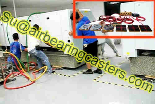 Air Casters Parts with introduction of Load Modules