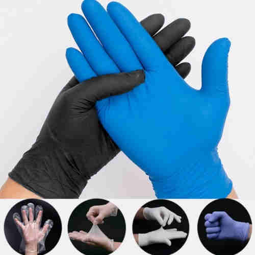 vinyl/nitrile blended glove