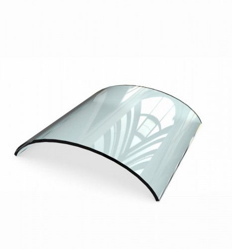 Curved Toughened Glass  bent tempered glass