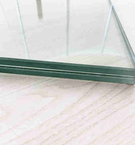 Clear Laminated Glass   white laminated glass