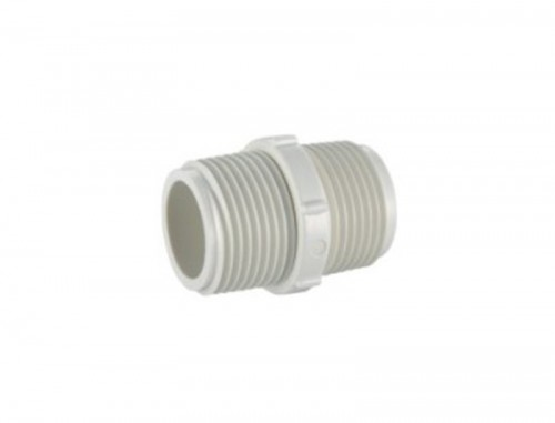 "1-1/4"" UPVC BS thread water system pipe fitting male coupling"